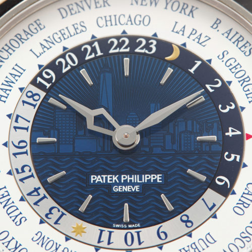 PATEK PHILIPPE LIMITED EDITION WHITE GOLD WORLD TIME REF. 5230G
